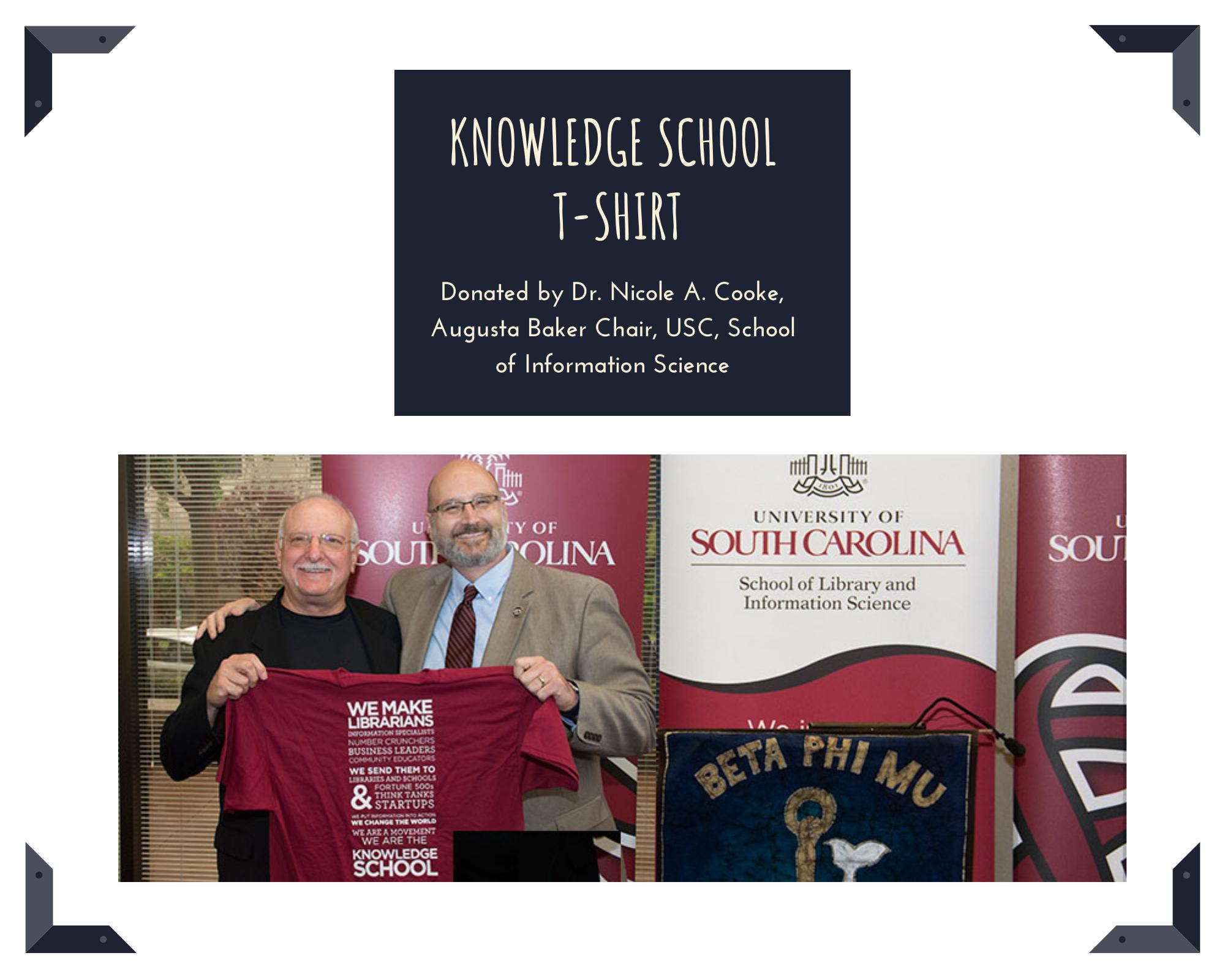 Knowledge School t-shirt